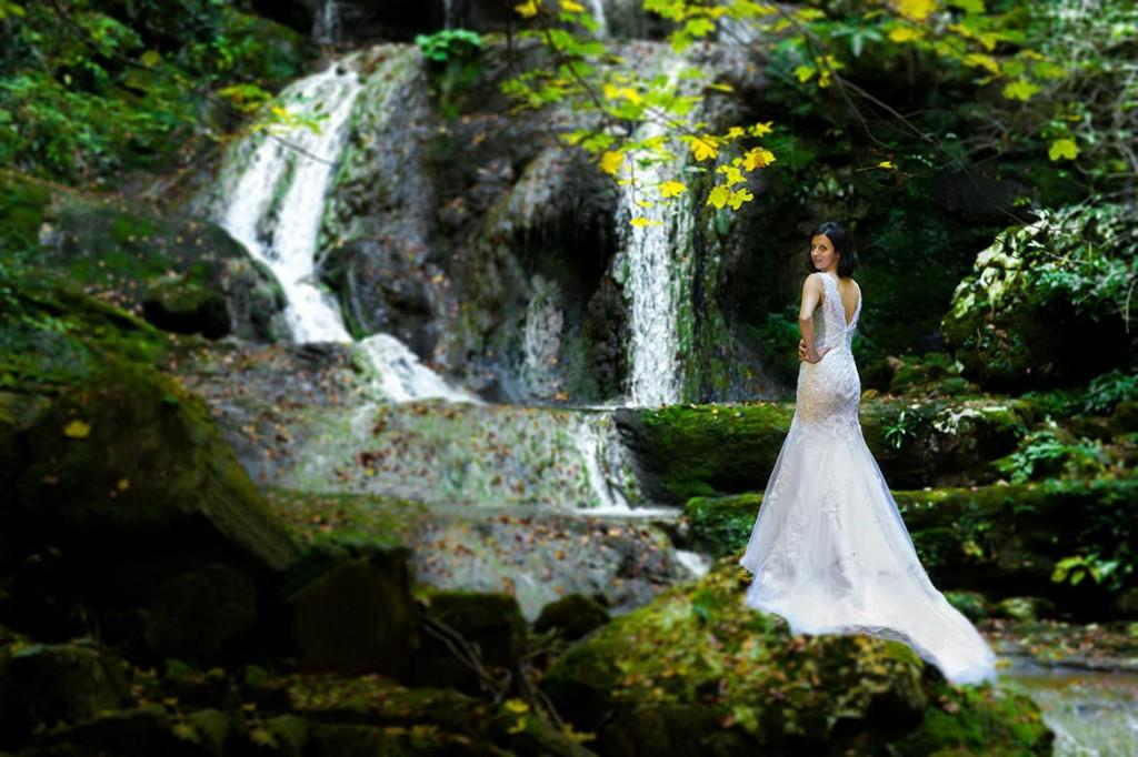 Sedinta foto dupa nunta la Cascada Cioclovina 03
